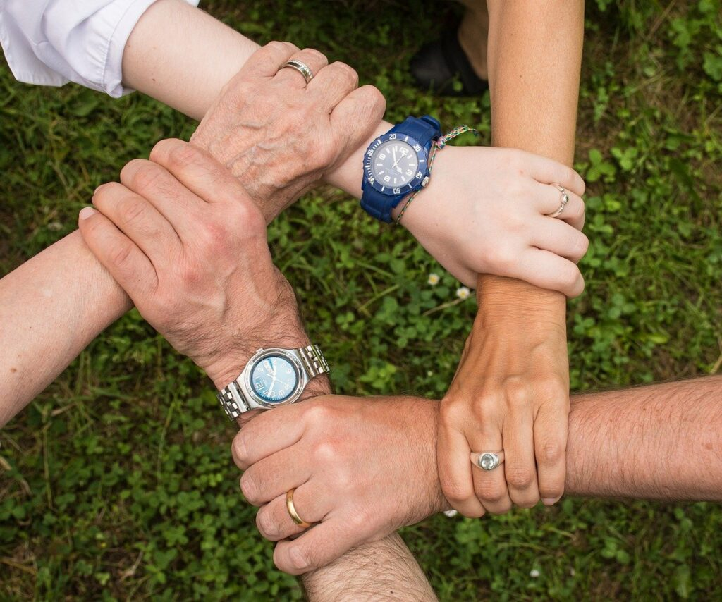 team spirit, cohesion, teamwork