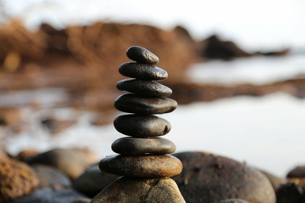 stones, stone, tower
